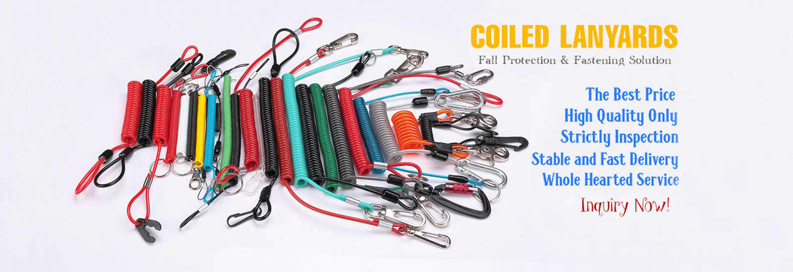 China best Plastic Coil Lanyard on sales