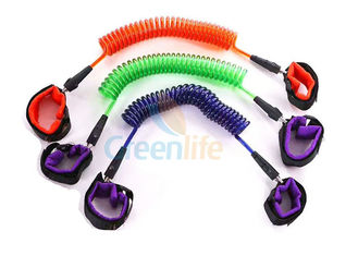 China 2.5 Meter Extended Length Child Anti Lost Strap For Protection Custom Colors supplier