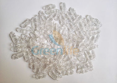 China Transprent Clear Lanyard Accessories Plastic PC alligator Clip Hat Fastening Connectors supplier