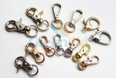China Customized Fishing Swivel Hook With  Metal / Zinc Alloy / Stainless Steel Material supplier