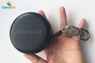 China Self - Locking Retractable Tether Cord Quick - Stop Fall - Arrest With Round Pull Reel supplier