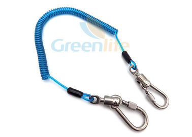 China Protection Steel Wire Lanyard Leash Prevent Hand Tool Accident Loss W / Steel Snap supplier