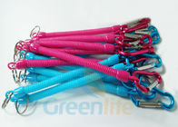 China Custom Colour / Length Fishing Pliers Lanyard Safety Tethers Long - Standing company