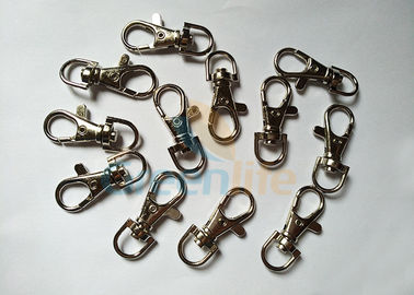 China Security Hardwares Lanyard Accessories Hook End Lobster Claw Clasps With Swivel distributor